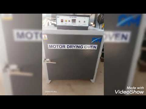 Electrical Motor Drying Oven