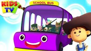 Wheels On The Bus | Little Eddie | Nursery Rhymes For Babies - Kids TV