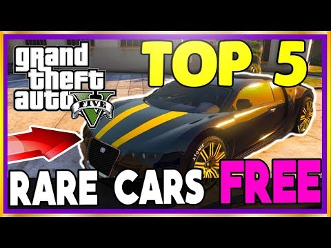 GTA 5 Online ''FREE RARE CARS 1.40'' ALL CONSOLES TOP 5 RAREST CARS Spawn Locations! *Some STORABLE*