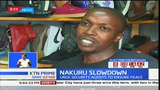 Nakuru traders record low business turn out due to demos