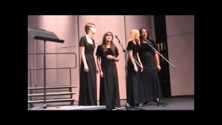 Howard W. Blake Female Barbershop Quartet- All My Loving