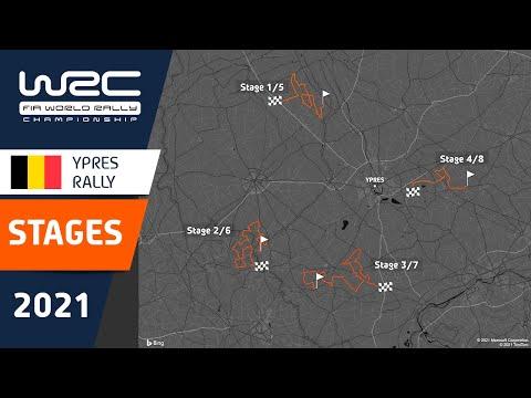 コース紹介動画 WRC 2021 第8戦 ラリー・ベルギー