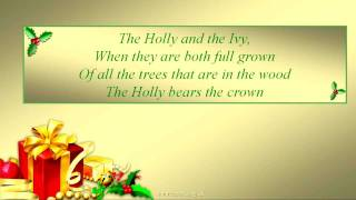 THE HOLLY AND THE IVY Lyrics