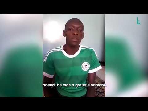African Brother Imitates Al-Husary Quran Recitation
