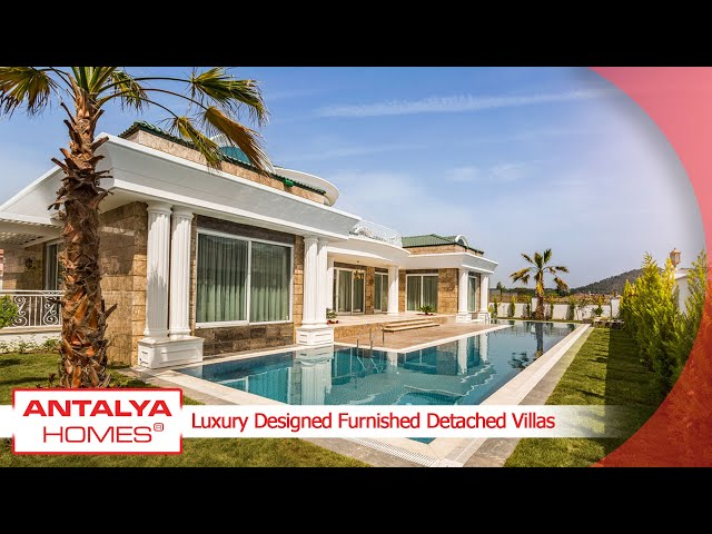 Ultra-Luxurious Ready to Move Villas in Kemer