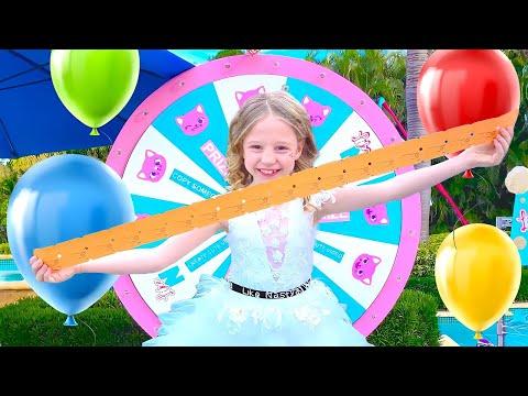 ناستيا تحتفل بعيد ميلادها سابع! أحلا حفله