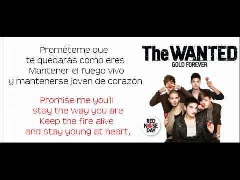 Gold Forever - The Wanted (Traducida al español con subtitulos en inglés)