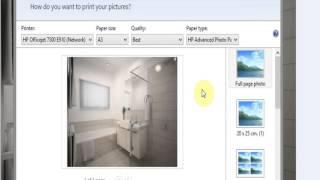 Windows Photo Viewer Print Page Borderless
