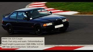 preview picture of video 'Bedford Autodrome - Javelin Track Day - 30/11/13 - Session 1 - BMW E36 323i Coupe'