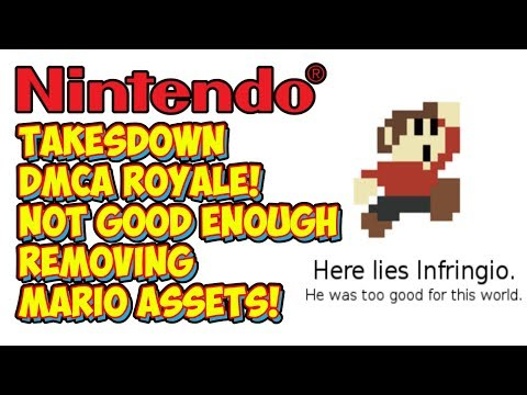 Nintendo Doesn't Think DMCA Royale Was Funny! Takes It Down For Good!