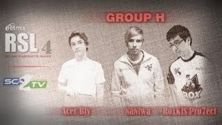 AcerBly Vs RoX.KIS.Pro7ect: Ritmix RSL 4 Group H - [Starcraft II]