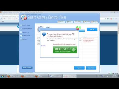comment installer controle activex