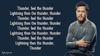 Thunder   Imagine Dragons (Lyrics) 🎵