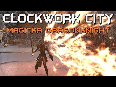 Magicka Dragonknight PvP Build - Elder Scrolls Online: Clockwork