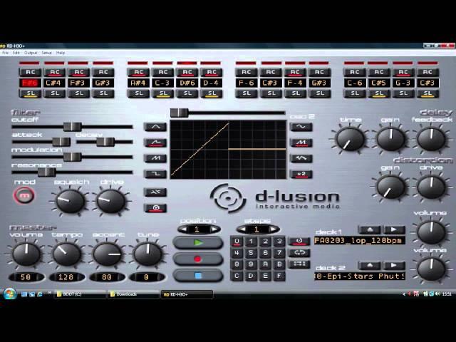 D-Lusion 2.12 VST - A Modern 303 Acid Mix (Part 2)