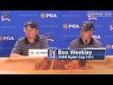 Boo Weekley & J.B. Holmes talk about Ryder Cup