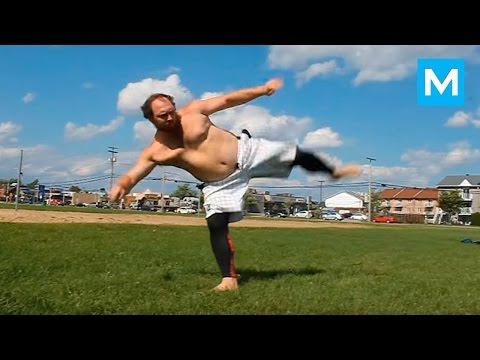 Sébastien Charron es que una Real vida Kung Fu Panda