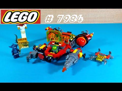 Vidéo LEGO Atlantis 7984 : Le torpilleur des profondeurs
