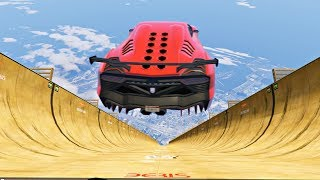 GTA 5 MEGA RAMP Longest Jump Compilation (GTA 5 Mods Gameplay Moments)