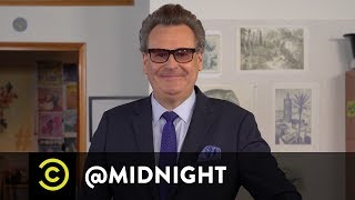 Masterclass - How to Make a Martini with Greg Proops - @midnight with Chris Hardwick
