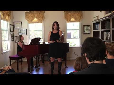 L'amour est un oiseau rebelle. Kristen Fallon Graduate Recital.