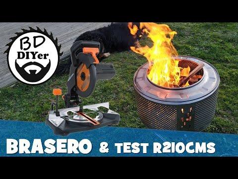 BDiYer # 18 - Fabrication d'un brasero & Test EVOLUTION R210CMS