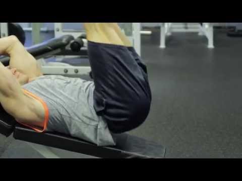 Decline Leg Raise with Hip Thrust