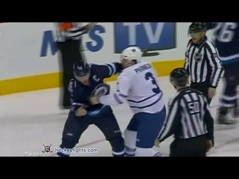 Andrew Ladd vs. Dion Phaneuf