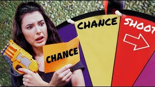 NERF Hangman Roulette Challenge! [Ep. 8]