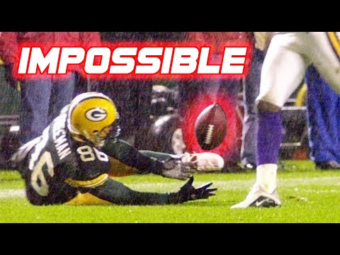 """NFL """"1 in a Million"""" Plays (Rare/Lucky Plays)"""