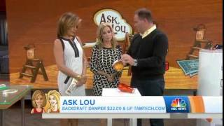 TODAY show segment Tamarack Technologies Cape Backdraft Damper