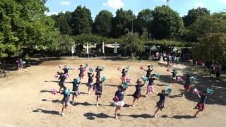 大石中学校ダンス部inあげお元気祭り2014