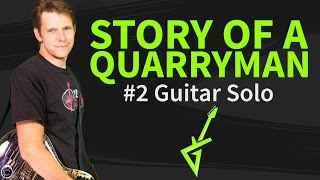 How to Play Story of a Quarryman Guitar Lesson #2 Joe Bonamassa Guitar Solo