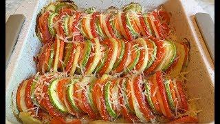 Овощная Запеканка с Мясом / Meat with Vegetables / Запеченные Овощи / Блюдо на Обед