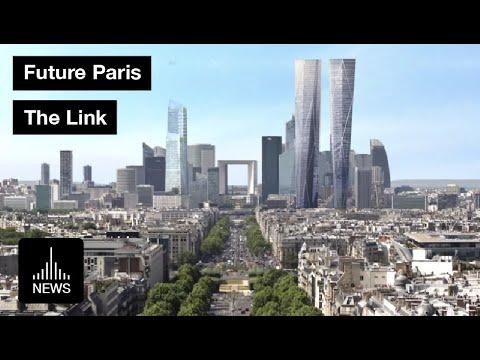 Future Paris - The Highest Tower in La Defénse, Paris
