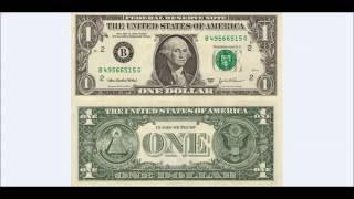 Symbolika na 1 Dolárovej Bankovke