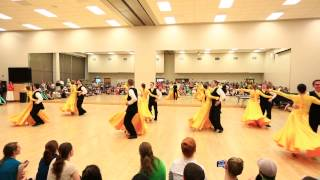 What The World Needs Now Is Love - Foxtrot - Spring 2015 BYU Ballroom Dance Team