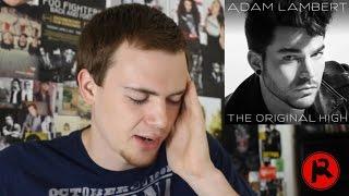 Adam Lambert - The Original High (Album Review)