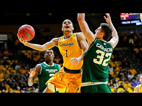 Wyoming's Justin James Hangs In The Air Forever | CampusInsiders