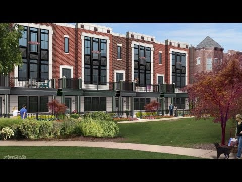 Extraordinary new townhomes at Cornelia on the Park