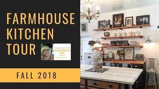 A Farmhouse Kitchen Tour