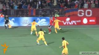 Hayastan 4 - 1 Makedonia bolor golery  EURO 2012 Qualifiers