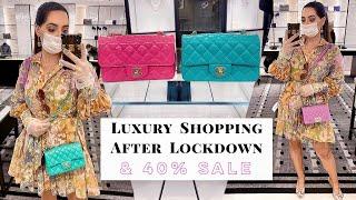 Luxury Shopping In Harrods After Lockdown- Chanel, Louis Vuitton & Summer Sale Update