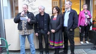 preview picture of video 'DIE LINKE. Gelsenkirchen: Eröffnungsfeier 28.03.2014'