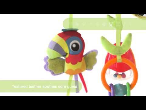 Rotaļlieta bērnu ratiņiem On-The-Go Playgro, 0185478
