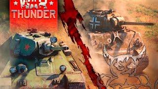 Бета-Тестер WOT играет в War Thunder #2