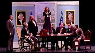 "Annie Cabinet Scene ""Tomorrow"" -- Annie meets President FDR"