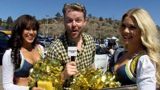 Tailgate Fan: San Diego Chargers