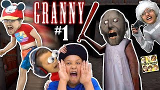 ESCAPE GRANNY HOUSE! She Won