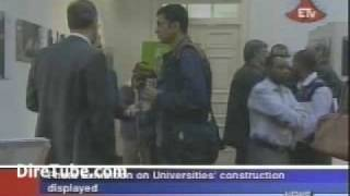 Ethiopian English News - Photo Exhibition on Universities' construction displayed